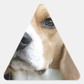 """Beagle"" Triangle Sticker"
