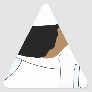 Beagle Triangle Sticker