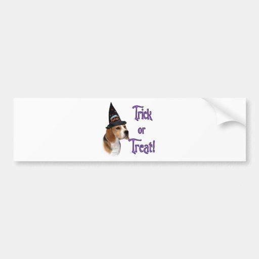 Beagle Trick Bumper Sticker
