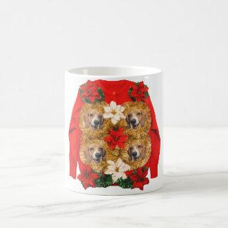Beagle Ugly Christmas Sweater Coffee Mug