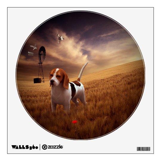 Beagle Wall Sticker