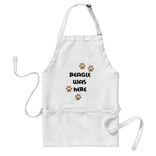 Beagle Was Here Adult Apron