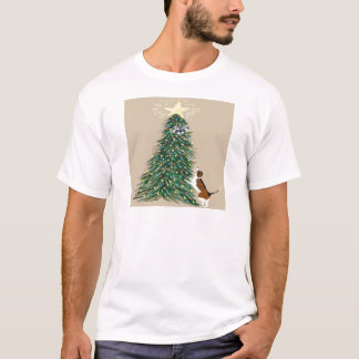 Beagle With Treed Raccoon T-Shirt