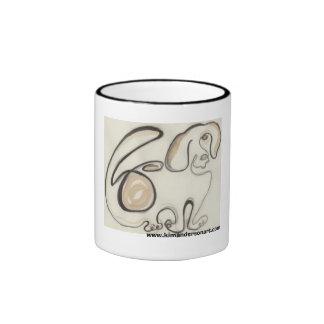 Beagle www.kimandersonart.com coffee mugs