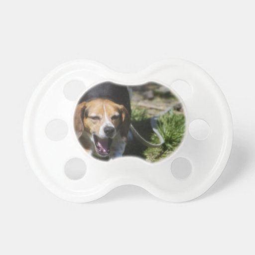 Beagle Yawn Baby Pacifier