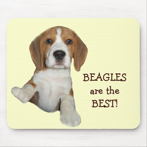 Beagles Are The Best Mousepad
