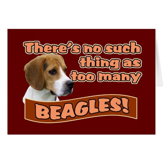 BEAGLES CARD