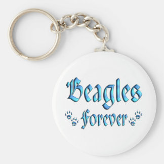 Beagles Forever Key Chains