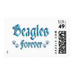 Beagles Forever Postage Stamp