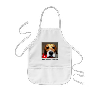 Beagles have more fun! kids' apron