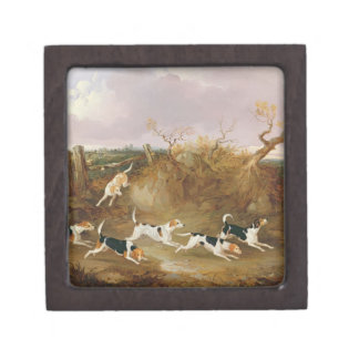 Beagles in Full Cry, 1845 (oil on canvas) Gift Box