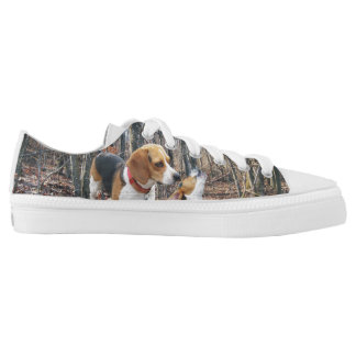 Beagles In The Woods Low-Top Sneakers