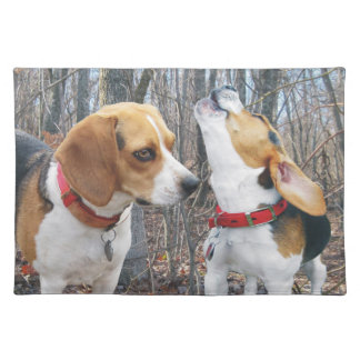Beagles in the Woods Placemat