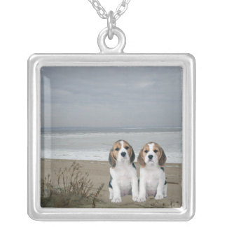Beagles On The Beach Necklace