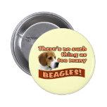 BEAGLES PIN