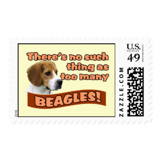 BEAGLES POSTAGE STAMPS