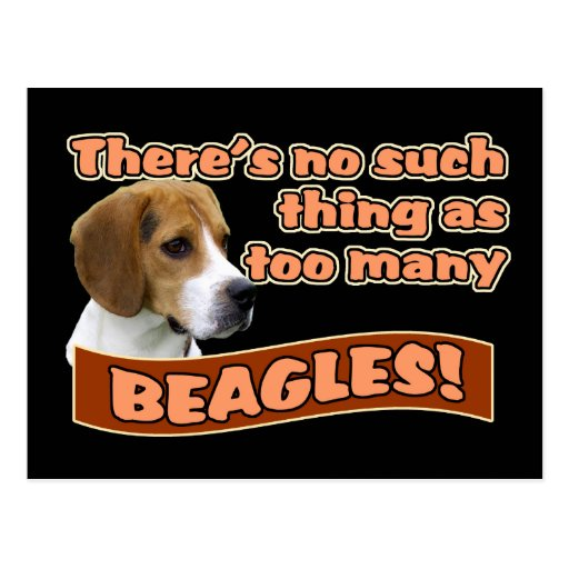 BEAGLES POSTCARDS