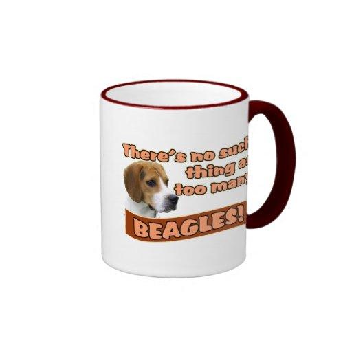 BEAGLES RINGER MUG