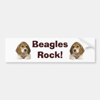 Beagles Rock Bumper Sticker Car Bumper Sticker