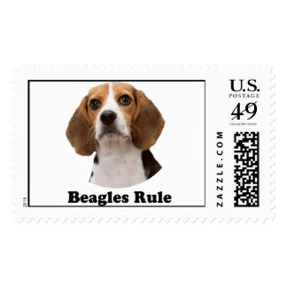 Beagles Rule Postage Stamps