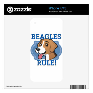 Beagles Rule! Skins For The iPhone 4S