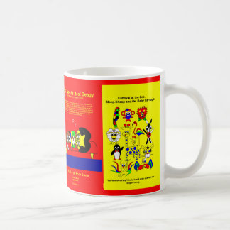Beagy and father sleep coffee mug