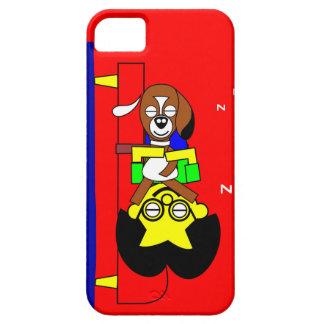 Beagy and father sleep iPhone SE/5/5s case