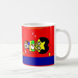 Beagy and father sleep mugs