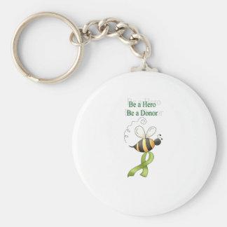 beahero llavero redondo tipo pin