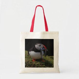 Beak Full of Fish Puffin Bag