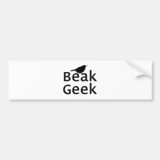Beak Geek-- Wren Bumper Sticker