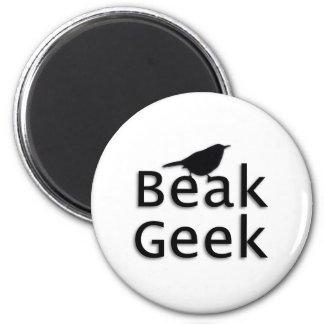 Beak Geek-- Wren 2 Inch Round Magnet