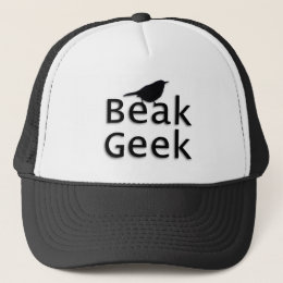 Beak Geek-- Wren Trucker Hat