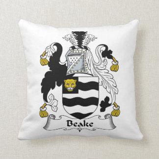 Beake Family Crest Pillows