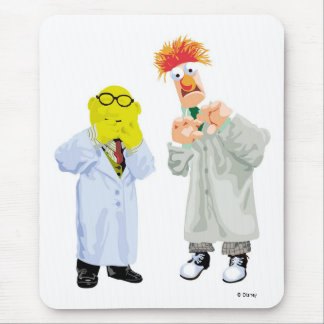 Beaker and Bunsen Disney Mouse Pad