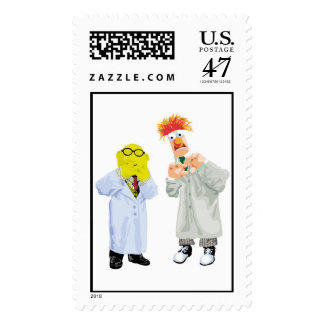 Beaker and Bunsen Disney Postage