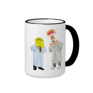 Beaker and Bunsen Disney Ringer Coffee Mug