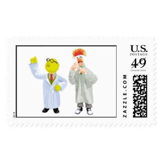Beaker and Bunson Disney Postage Stamp