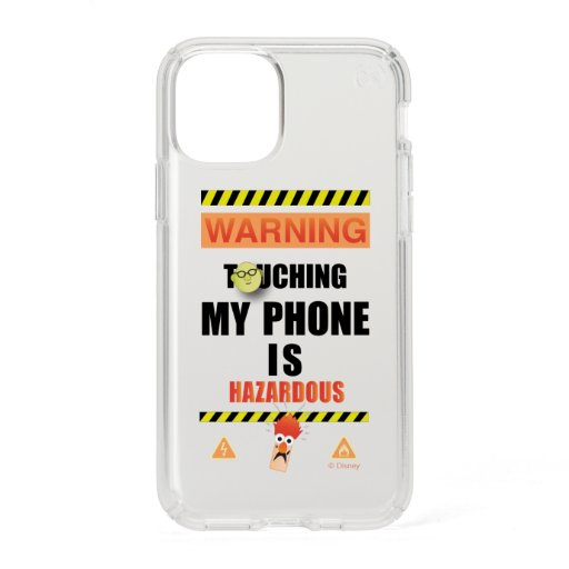 Beaker & Bunsen | Touching My Phone Is Hazardous Speck iPhone 11 Pro Case
