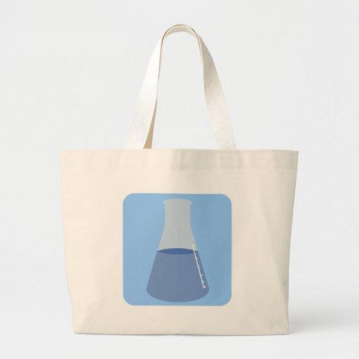 Beaker Mug Large Tote Bag