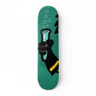 beaker skateboard