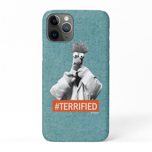 Beaker | #Terrified iPhone 11 Pro Case