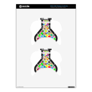 Beaker with Rainbow Chemicals Xbox 360 Controller Decal