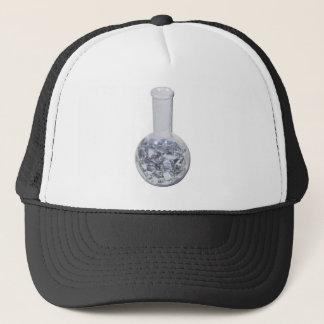 BeakerOfSilverSubstance061111 Trucker Hat
