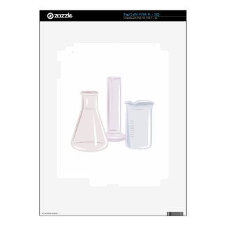 Beakers Decal For The iPad 2