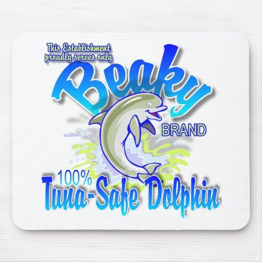 Beaky Brand Tuna-Safe Dolphin Mouse Pad
