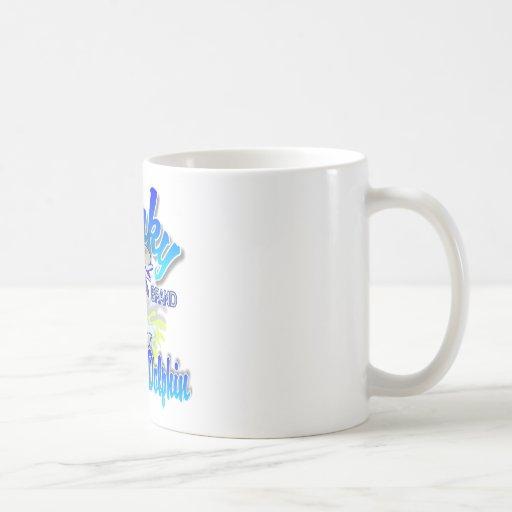 Beaky Brand Tuna-Safe Dolphin Classic White Coffee Mug