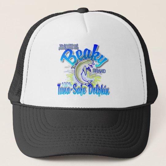 Beaky Brand Tuna-Safe Dolphin Trucker Hat