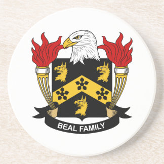 Beal Family Crest Coasters