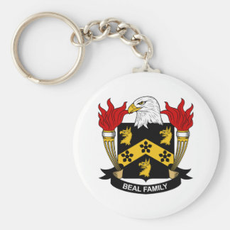 Beal Family Crest Key Chain